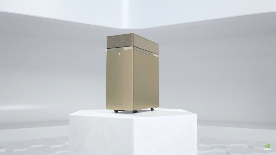 Nvidia презентовала настольный компьютер с 320 Гбайт видеопамяти