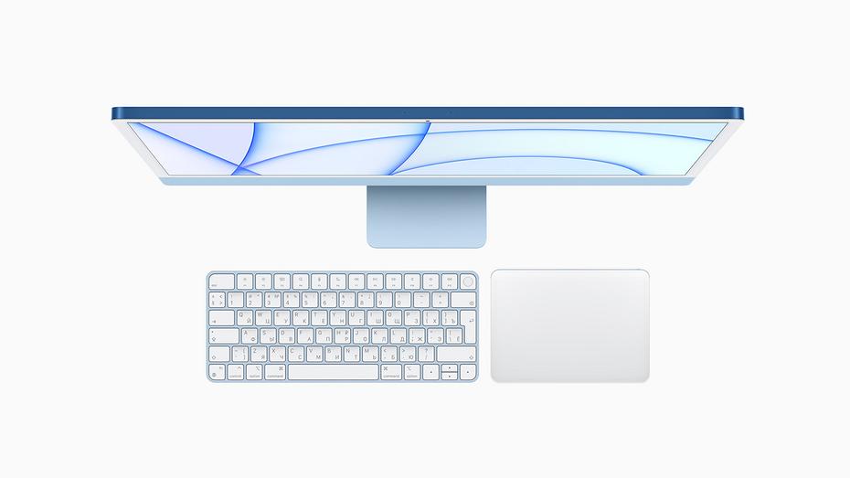 Новый Apple iMac неожиданно получил сразу семь расцветок