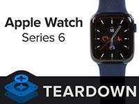 Оценена ремонтопригодность новых смарт-часов Apple Watch Series 6