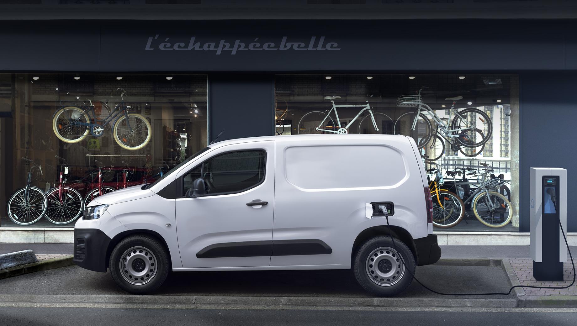Вэн Citroën ë-Berlingo заботливо распорядится энергией батареи