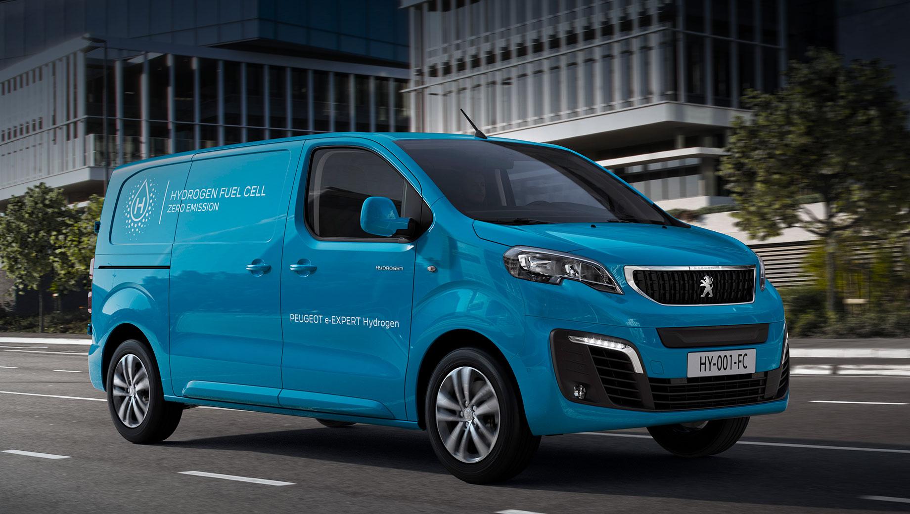 Водородный Peugeot e-Expert выйдет на рынок Европы в конце года