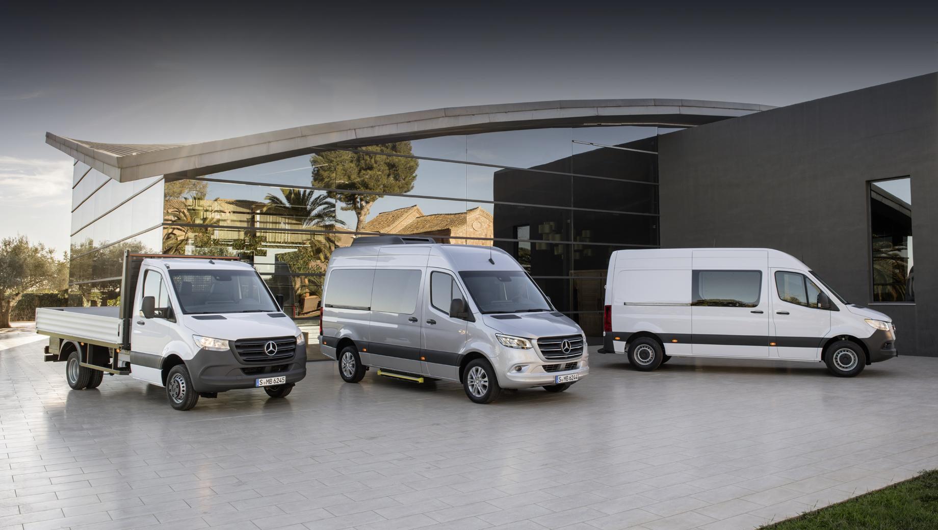 Mercedes-Benz Sprinter адаптировал дизель 2.0 ко всем версиям