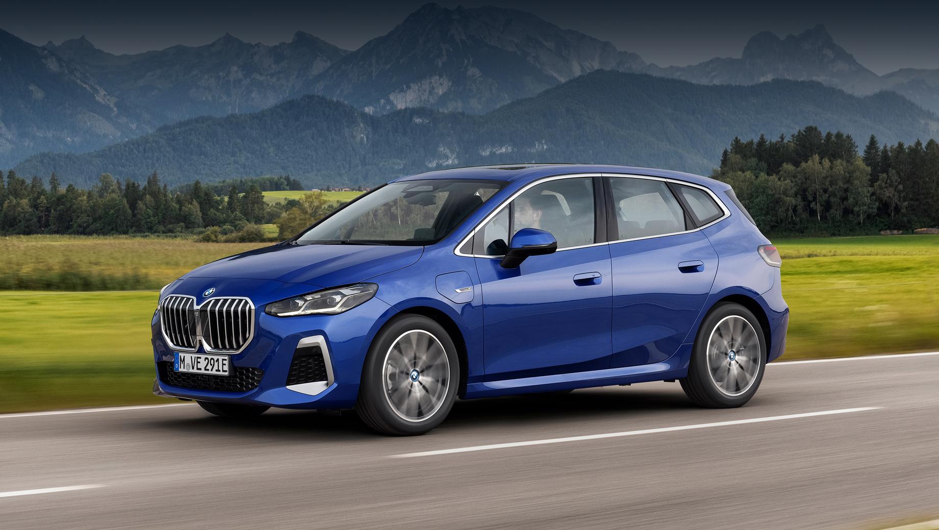 Новый компактвэн BMW Active Tourer пошёл по пути эволюции
