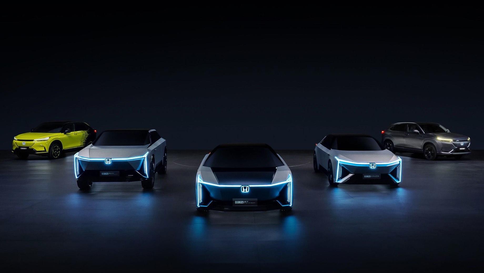 Семейство Honda e:N Series будет экспортироваться из Китая