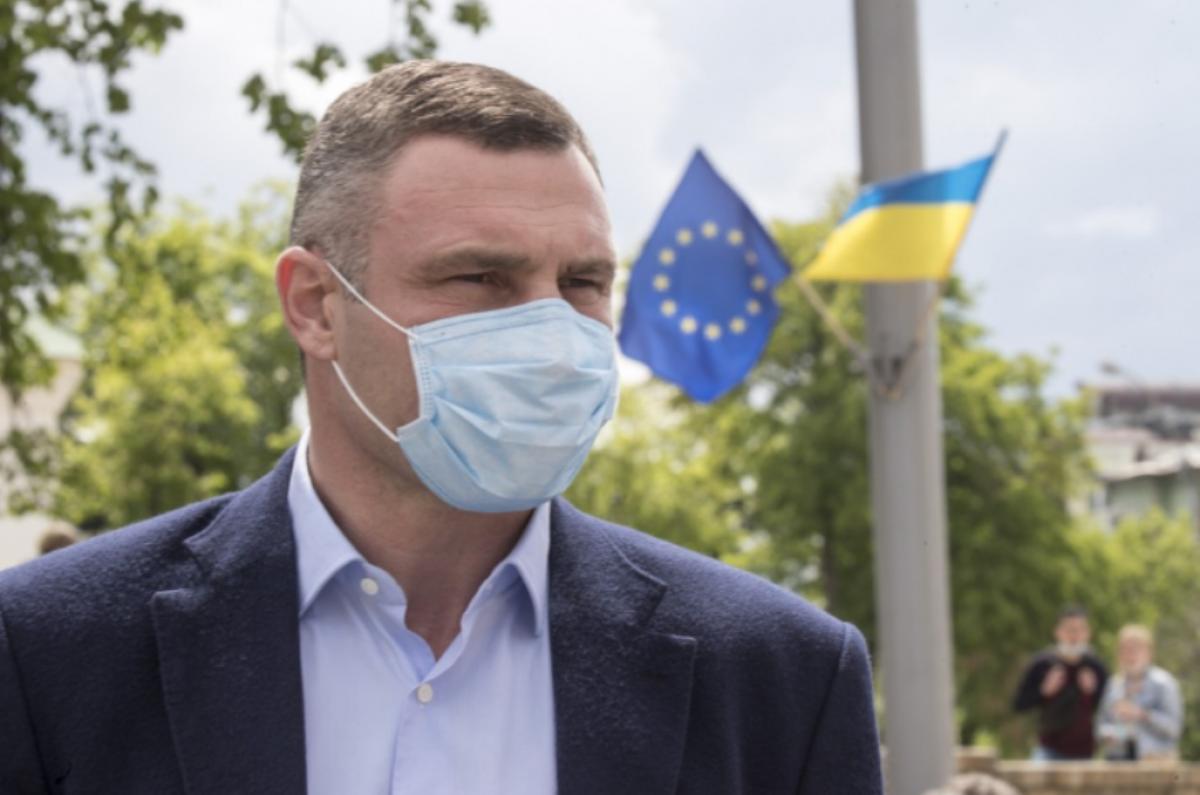 Кличко встретился с главой Представительства ЕС на открытии Дня Европы в Украине
