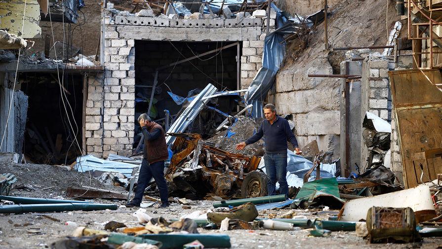 Берлин призывает Ереван и Баку немедленно прекратить бои