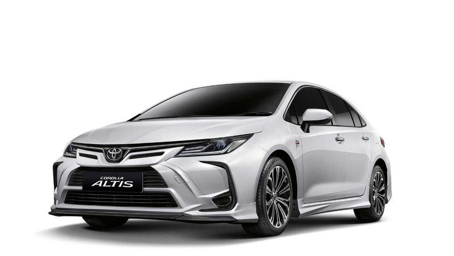 Toyota выпустила Corolla в честь трека Нюрбургринг