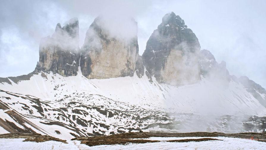 В Швеции гора 'усела' из-за таяния ледника
