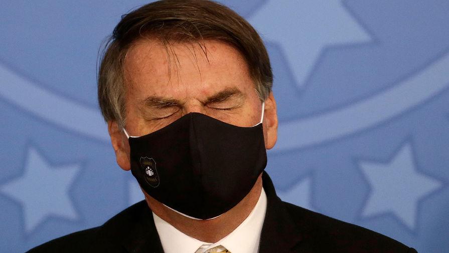 Президент Бразилии: все когда-то заразятся коронавирусом