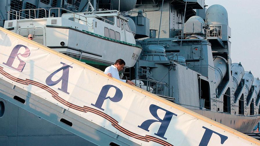 Корабли Тихоокеанского флота вышли в дальние походы
