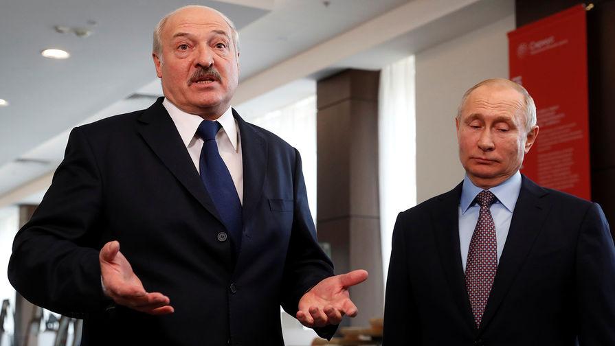 Лукашенко рассказал Путину о ситуации в Белоруссии