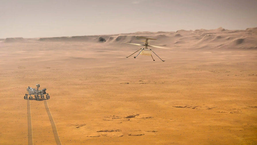Рогозин назвал 'детским садом' сообщения о планах построить АЭС на Марсе