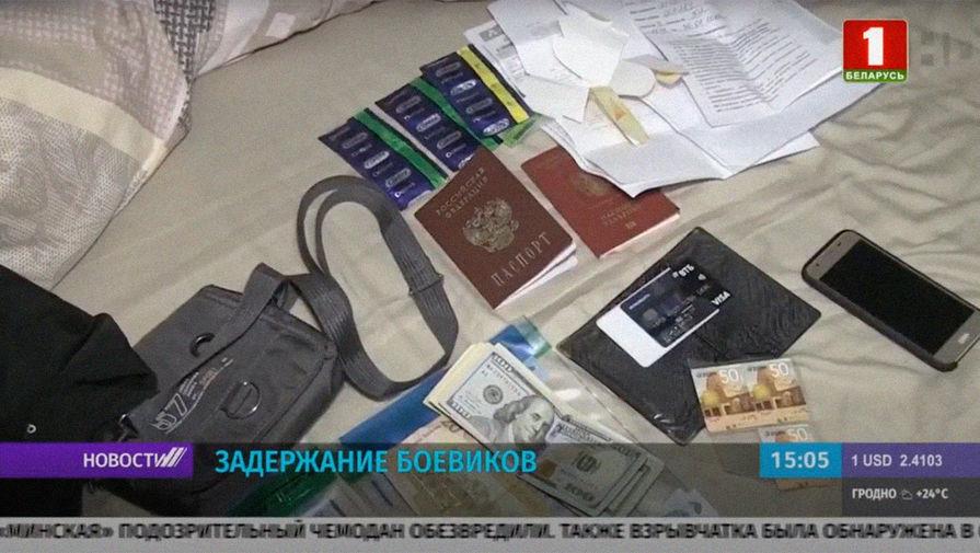 У задержанных в Белоруссии россиян не было при себе оружия