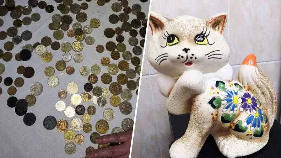 Врач в Челябинске собрала копилку монет, извлеченных из желудков детей