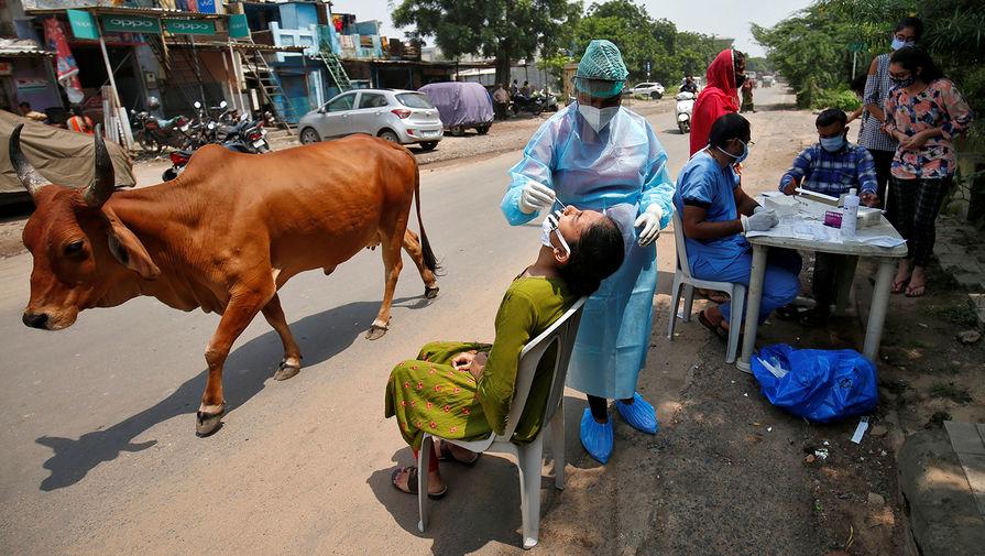 Число заражений коронавирусом в Индии превысило 5 млн
