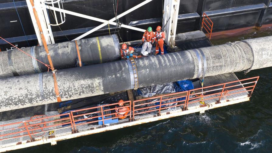 США ввели санкции против еще одного занятого в строительстве 'Северного потока' судна