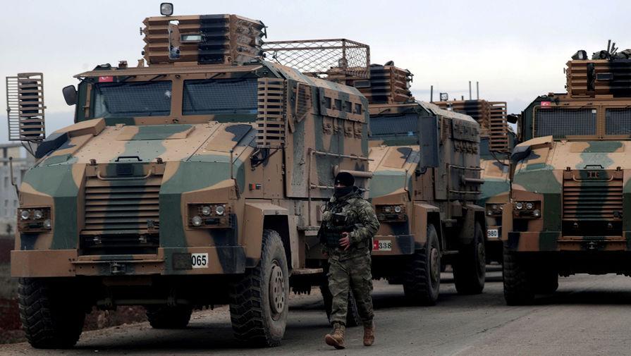 В Идлибе прогремел взрыв во время движения турецкого военного конвоя