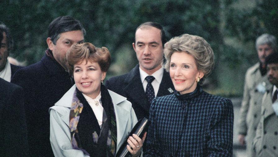 Переводчик Горбачева рассказал, когда подружились Нэнси Рейган и Раиса Горбачева