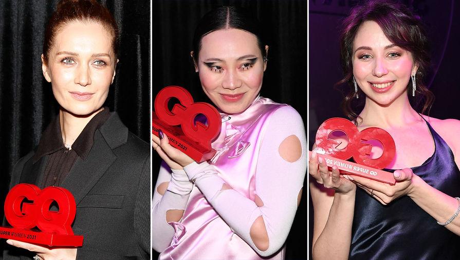 Журнал GQ вручил премии Super Women 12 женщинам из разных сфер