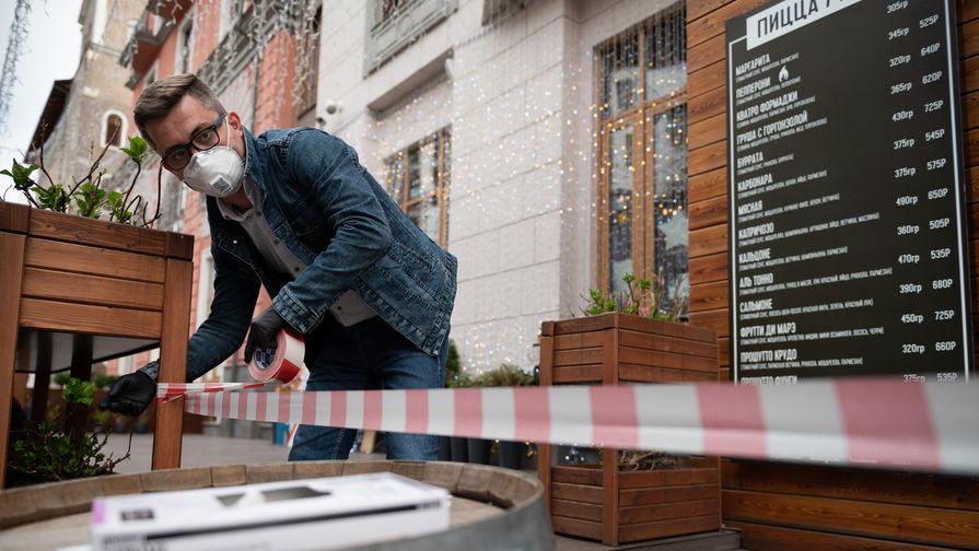 Власти рассказали о сроках открытия общепитов в Петербурге
