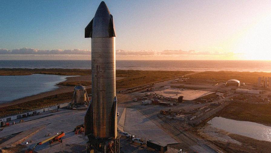 Маск сообщил причину взрыва прототипа корабля Starship