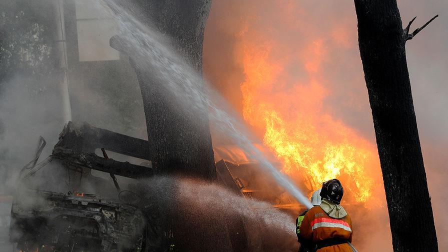 В Зеленодольске при пожаре в больнице погибли два человека