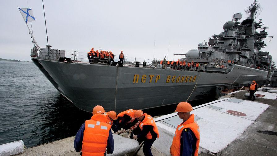 Видео удара кораблей Северного флота по условному противнику появилось в сети