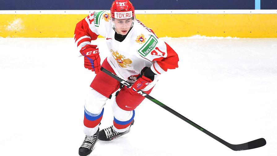 20-летний нападающий 'Авангарда' подписал контракт с клубом НХЛ
