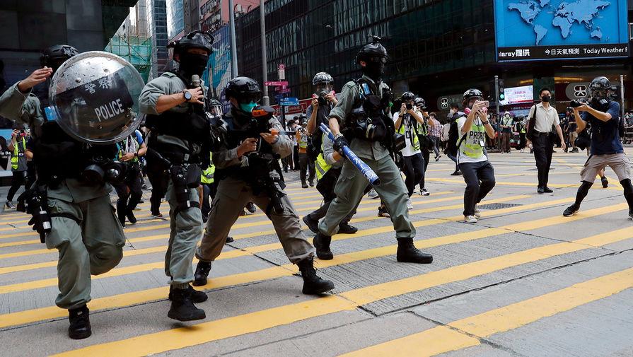Помпео: США прекратят экспорт военной техники в Гонконг