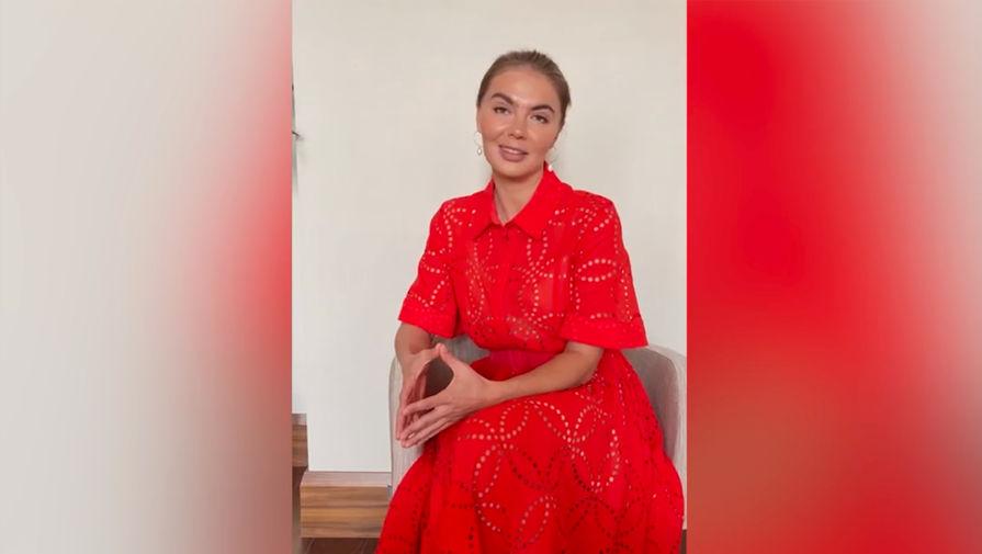 Кабаева впервые за несколько лет появилась на телевидении