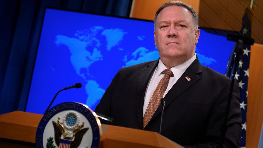 Помпео заявил, что оружейное эмбарго против Ирана сохранит жизни людей