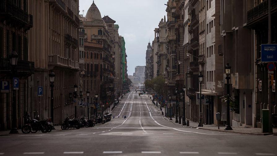 ВВП Испании упал на 18,5%