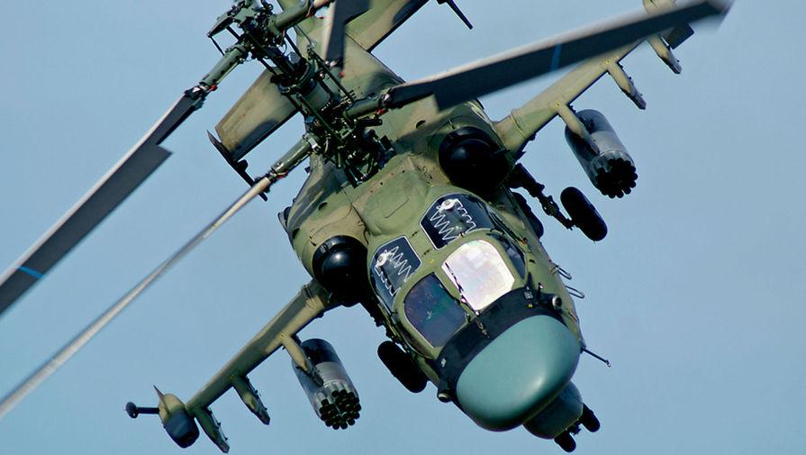 Новый вертолет Ка-52М выполнил стрельбы крылатыми ракетами 'изделие 305'