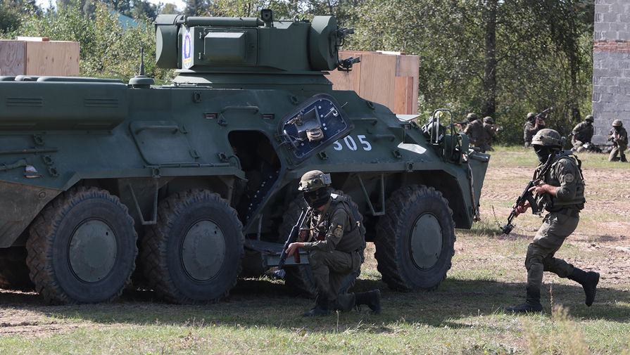 На Украине заявили, что проведут военные учения в ответ на российские маневры 'Кавказ-2020'