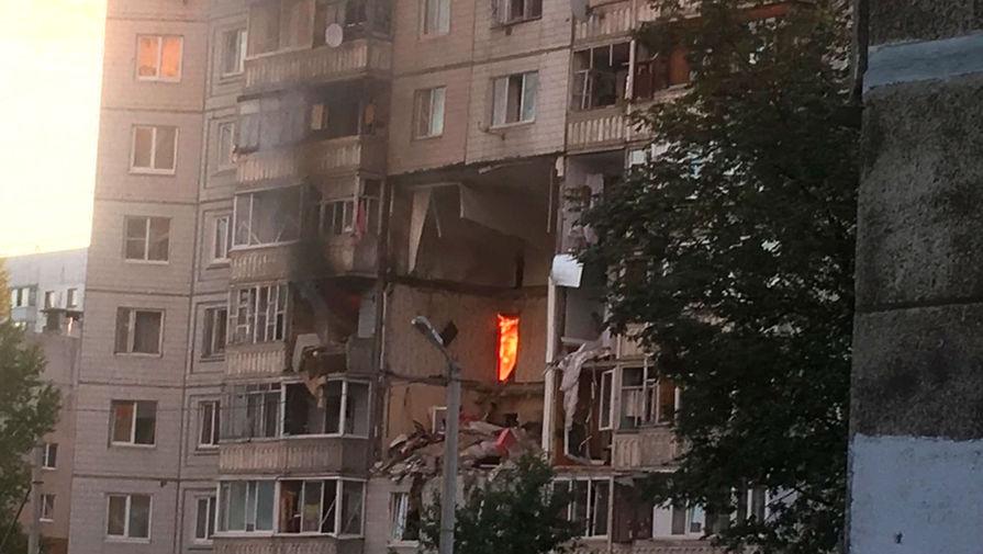 МЧС заявили об угрозе обрушения плит в доме в Ярославле, где прогремел взрыв