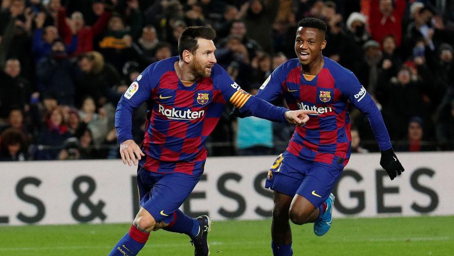 'Барселона' поздравила Месси с днем рождения