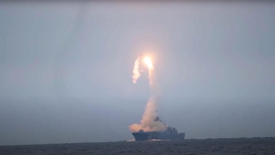 Появилось видео запуска гиперзвуковой ракеты 'Циркон'