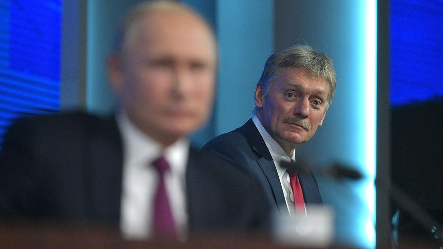 Песков ответил, обратится ли Путин к россиянам по поправкам в Конституцию
