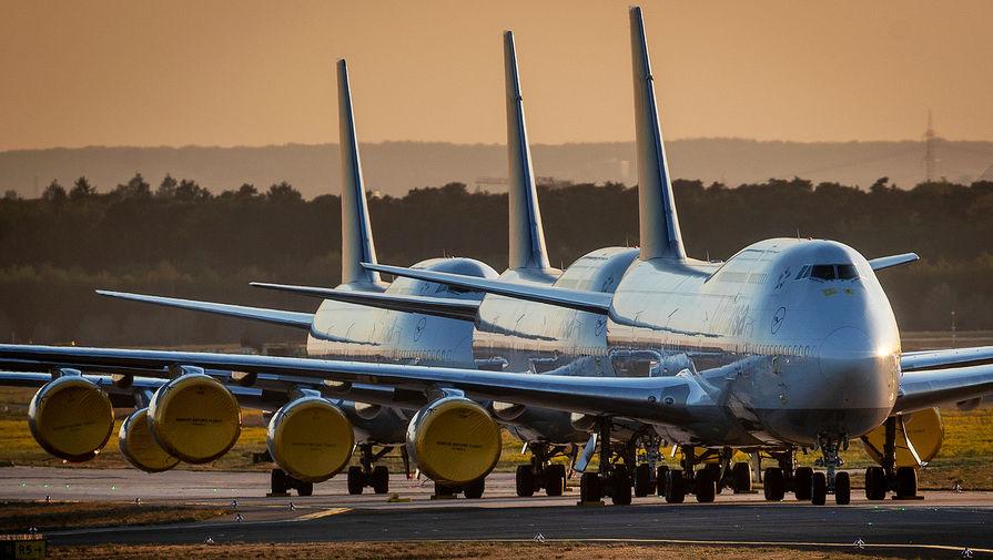 Lufthansa приостановила полеты над Белоруссией
