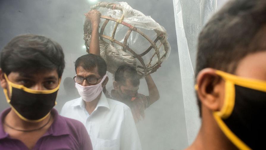 Глава МВД Индии заразился коронавирусом