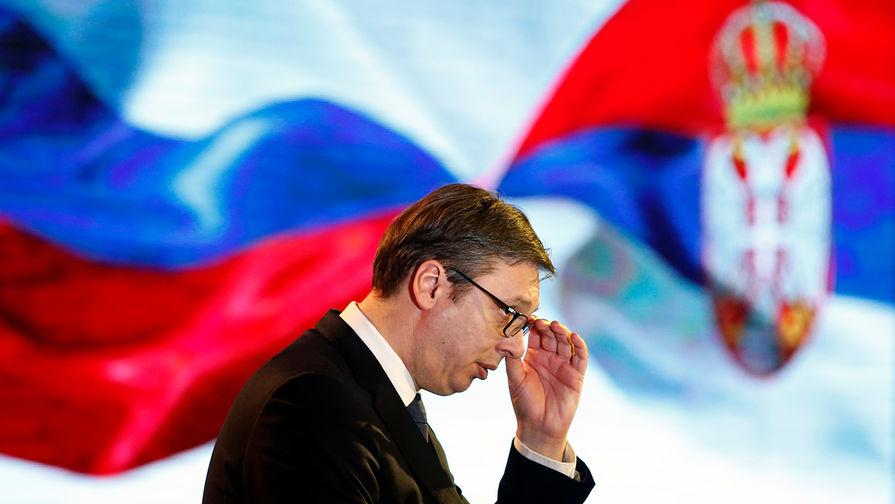 Вучич попросил Путина о максимально выгодной цене на газ для Сербии
