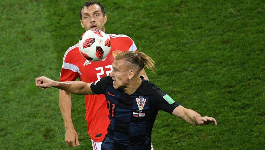 В УЕФА назвали причину замены арбитра в матче между Россией и Хорватией