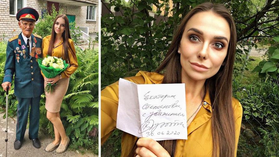 Появилось фото с автографом Путина, подаренного им волонтеру подо Ржевом
