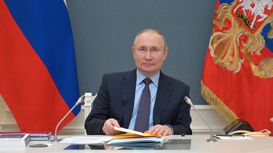 Путин поздравил пограничников