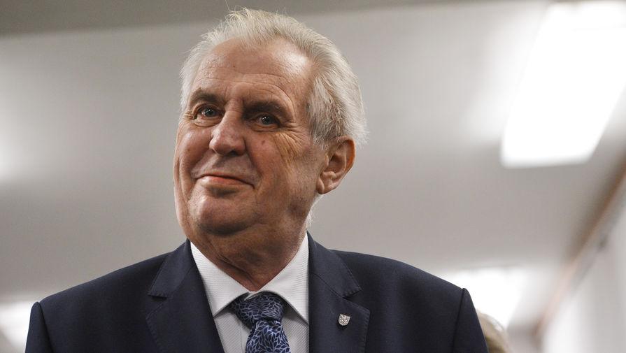 Президент Чехии выступит с чрезвычайным обращением по поводу инцидента во Врбетице