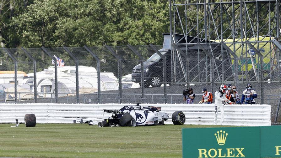 Квят прокомментировал итоги Гран-при Великобритании