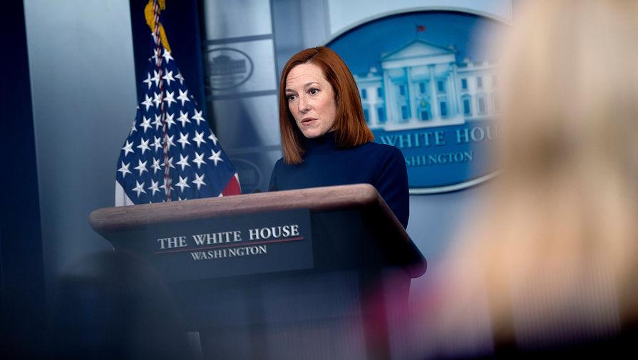 Псаки не стала комментировать новые санкции США против России