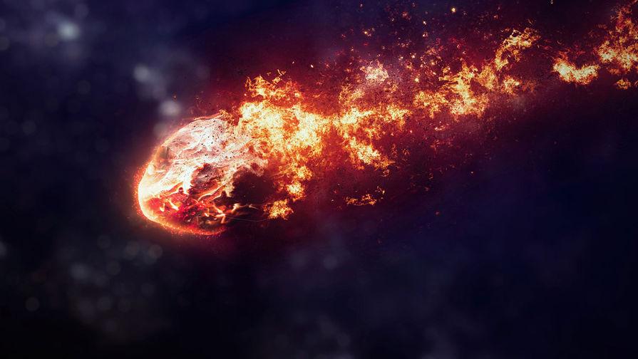 Появилось видео падения метеорита в Красноярском крае 18 мая