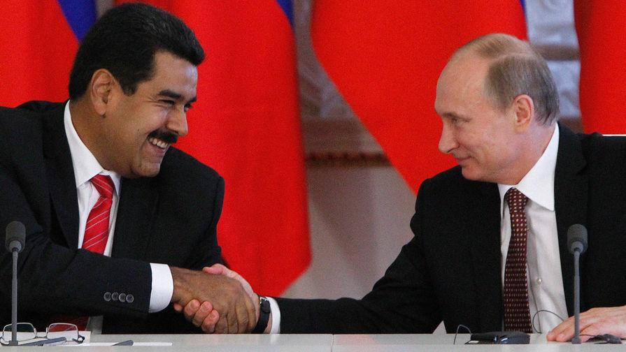Мадуро поздравил Путина с Днем Победы