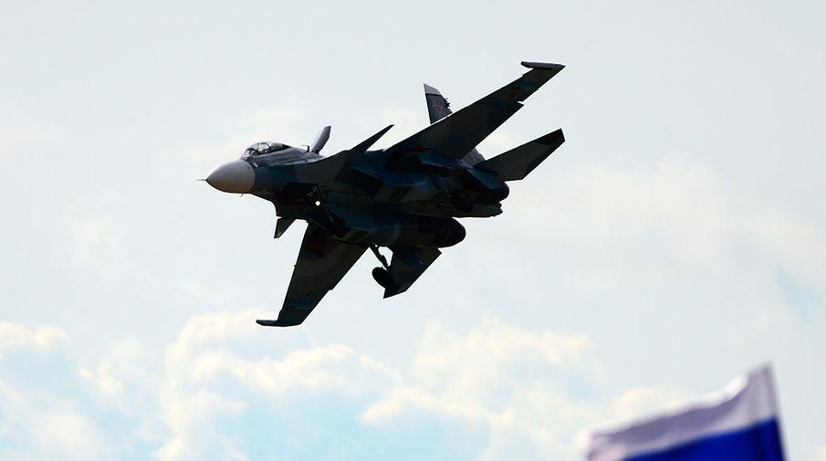 Появилось видео перехвата Су-30 самолетов США над Черным морем